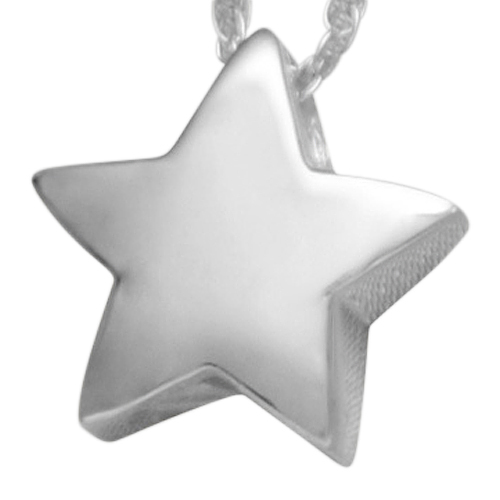 Modern Star Keepsake Pendant