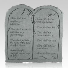 The Ten Commandments Tablet