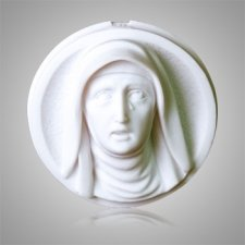 Sorrowful Mother Marble Medallion Appliques