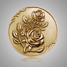 Rose Coin Medallion Appliques