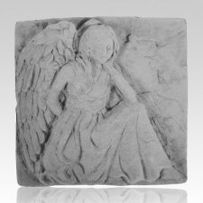 Sitting Angel Plaque