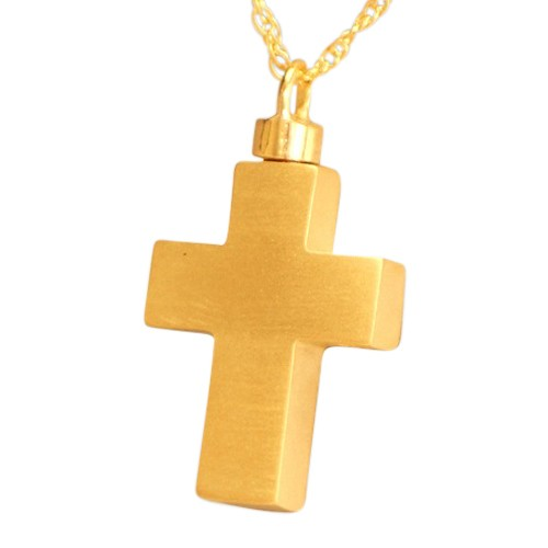 Large Eternity Cross Cremation Jewelry II