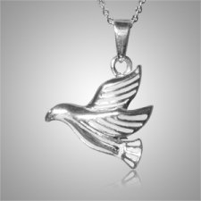 Flying Dove Cremation Jewelry III
