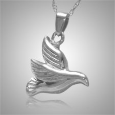Flying Dove Cremation Jewelry