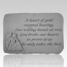 A Heart Of Gold Angel Stone