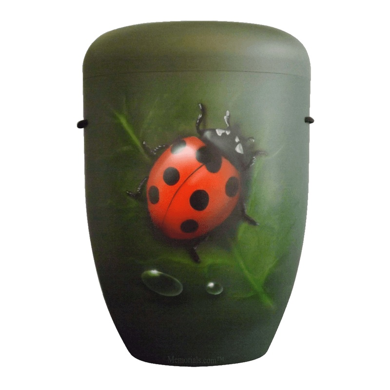 Ladybug Biodegradable Urn