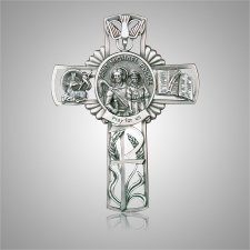 St. Michael Cross Medallion Appliques
