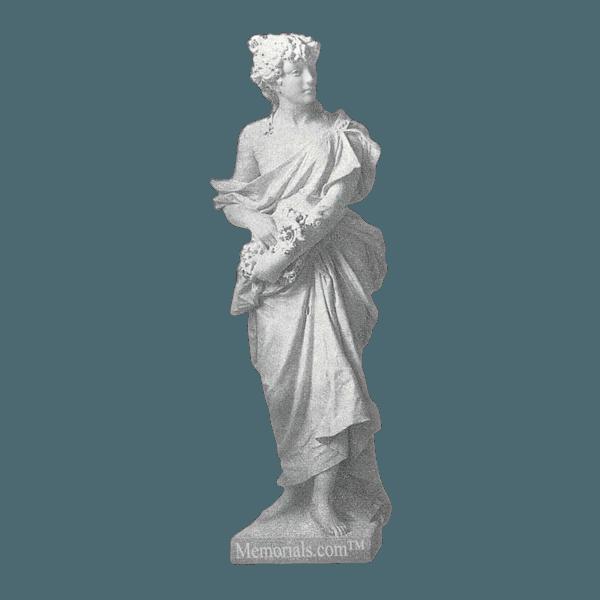 Spring Granite Statue