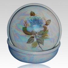 Callista Blue Keepsake Memento Box