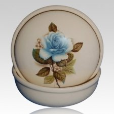 Serena Blue Keepsake Memento Box