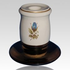 Serena Blue Candle Holder