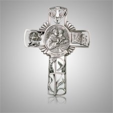 St. Anthony Cross Medallion Appliques