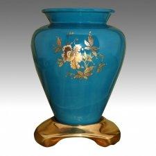 Paulette Green Flower Vase