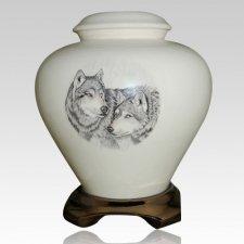 Wolf Pack Cremation Urn