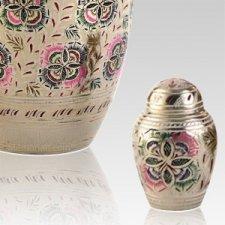 Lattice Keepsake Cremation Urn