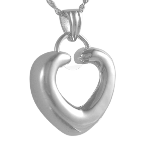Ring Heart Keepsake Pendant III