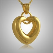 Ring Heart Keepsake Pendant II
