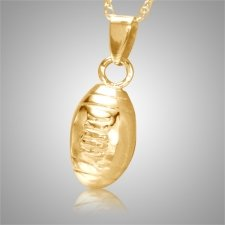Football Keepsake Pendant IV
