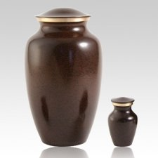 Brown Earthtone Pet Urns