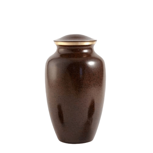 Brown Earthtone Medium Urn II
