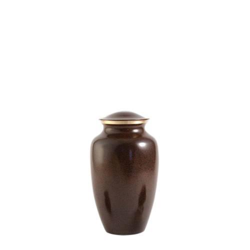 Brown Earthtone Small Pet Urn