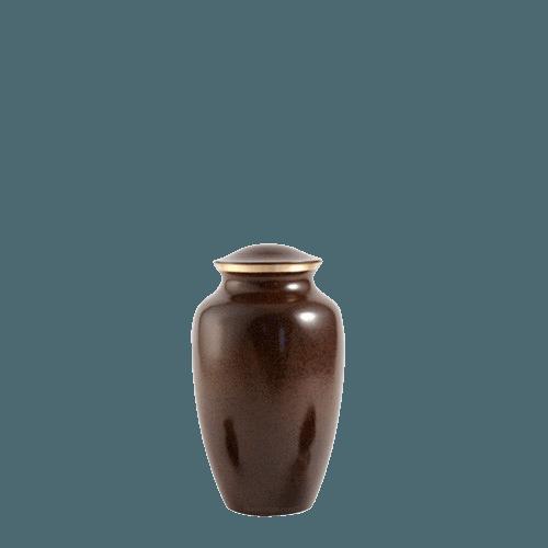 Brown Earthtone Small Urn