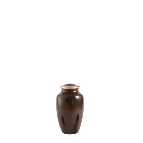Brown Earthtone Keepsake Urn