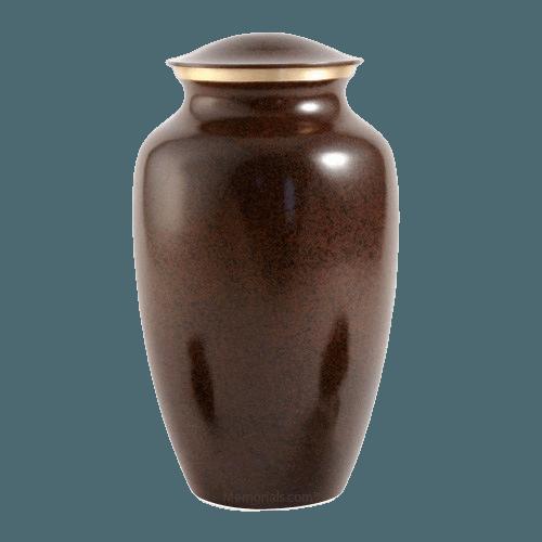 Brown Earthtone Large Urn