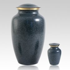 Blue Earthtone Pet Urns