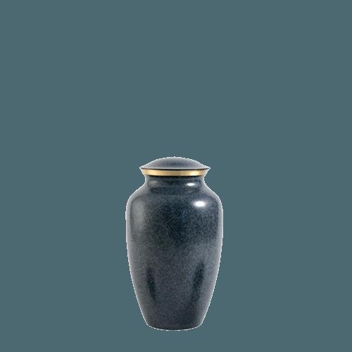 Blue Earthtone Small Urn