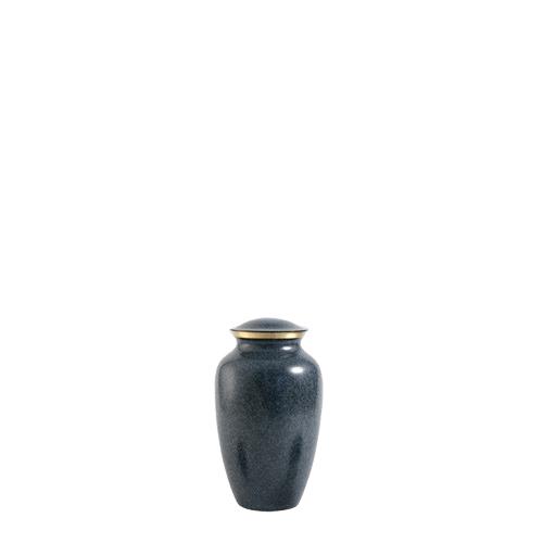 Blue Earthtone Keepsake Urn