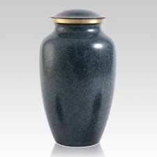 Blue Earthtone Large Urn