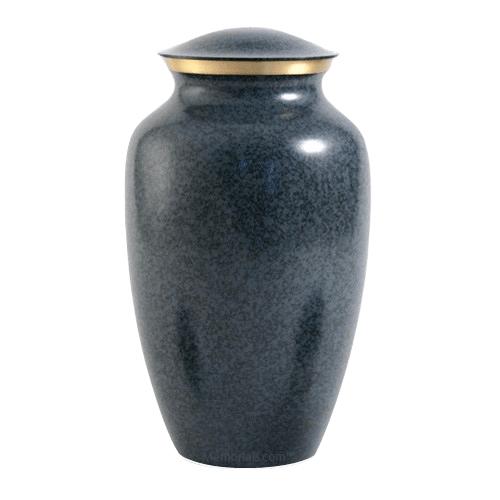 Blue Earthtone Large Urn
