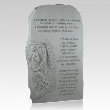 Thought Of You Angel Obelisk Pet Stone