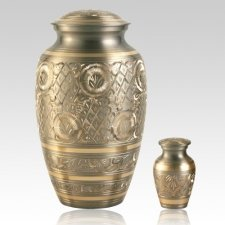 Chantique Gold Cremation Urns