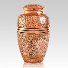 Antique Copper Cremation Urn