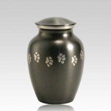 Classic Paw Print Medium Slate Urn