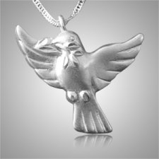 Dove to Heaven Cremation Jewelry III
