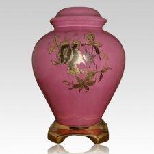 Princess Pink Ceramic Urn