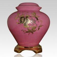 Pink Ceramic Companion Urn