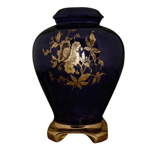 Princess Purple Ceramic Urn