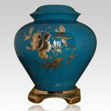 Green Ceramic Companion Urn