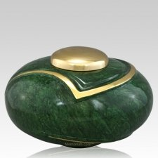 Luce Green Cremation Urn