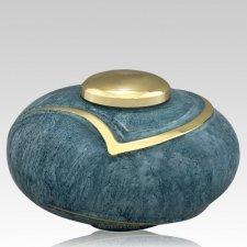 Luce Light Blue Cremation Urn