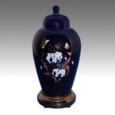 Blue Pet Cremation Urn