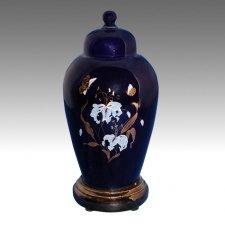Blue Pet Cremation Urn