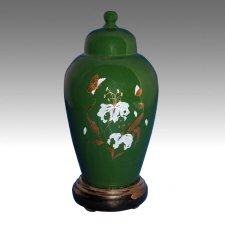 Green Pet Cremation Urn