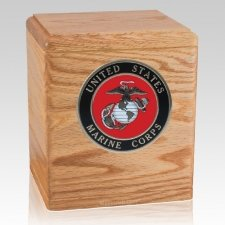 Freedom Oak Marines Urn