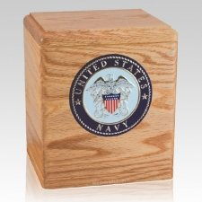 Freedom Oak Navy Urn