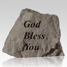 God Bless You Keepsake Rock